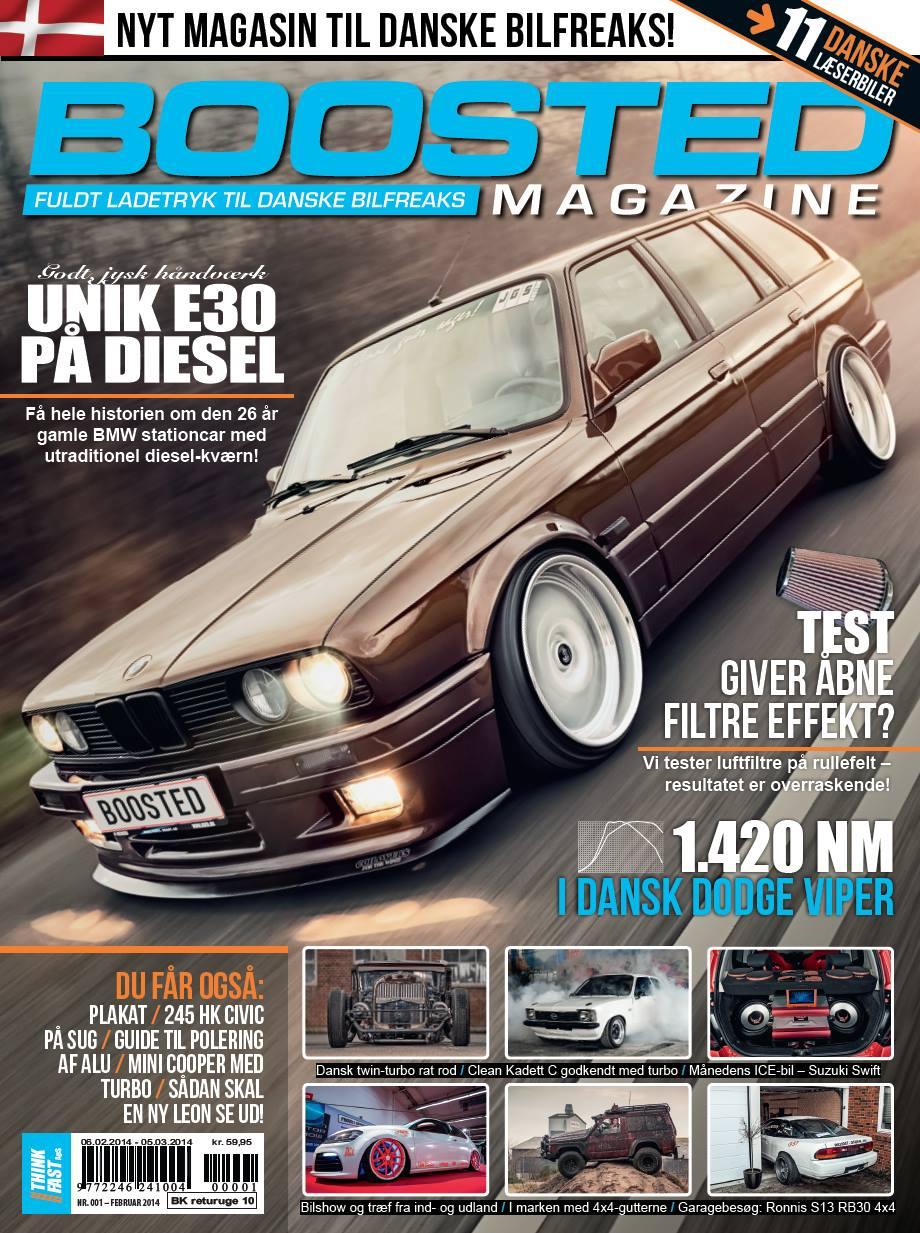 Den første udgave af Boosted Magazine
