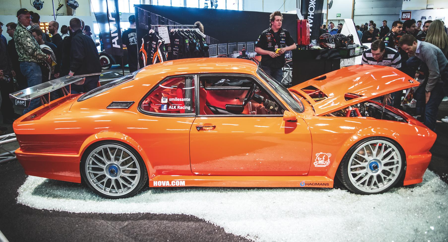 LEGENDARISK OPEL MANTA TIL DANMARK – Danmarks største bilshow