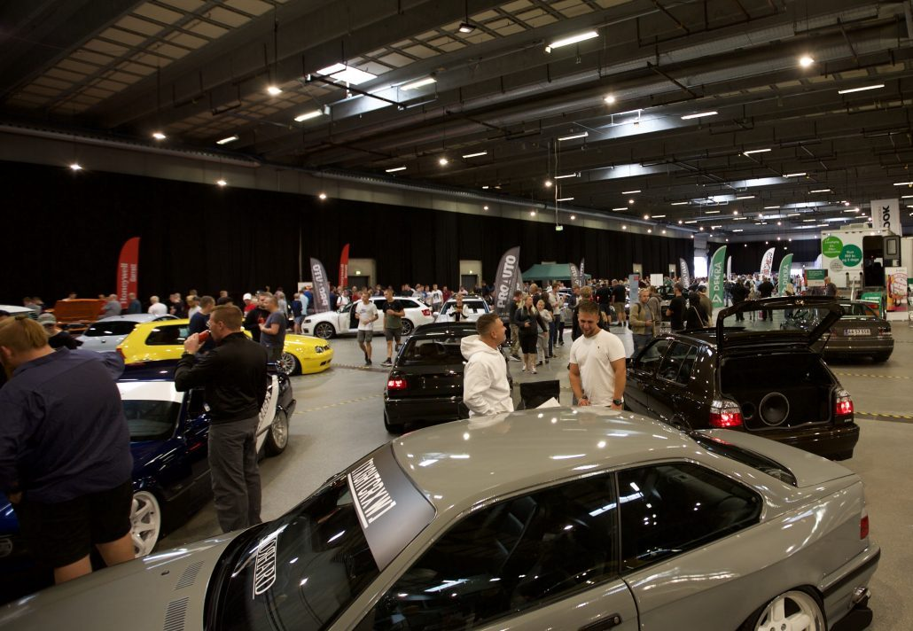 Auto Show i Odense Congress Center er for hele familien