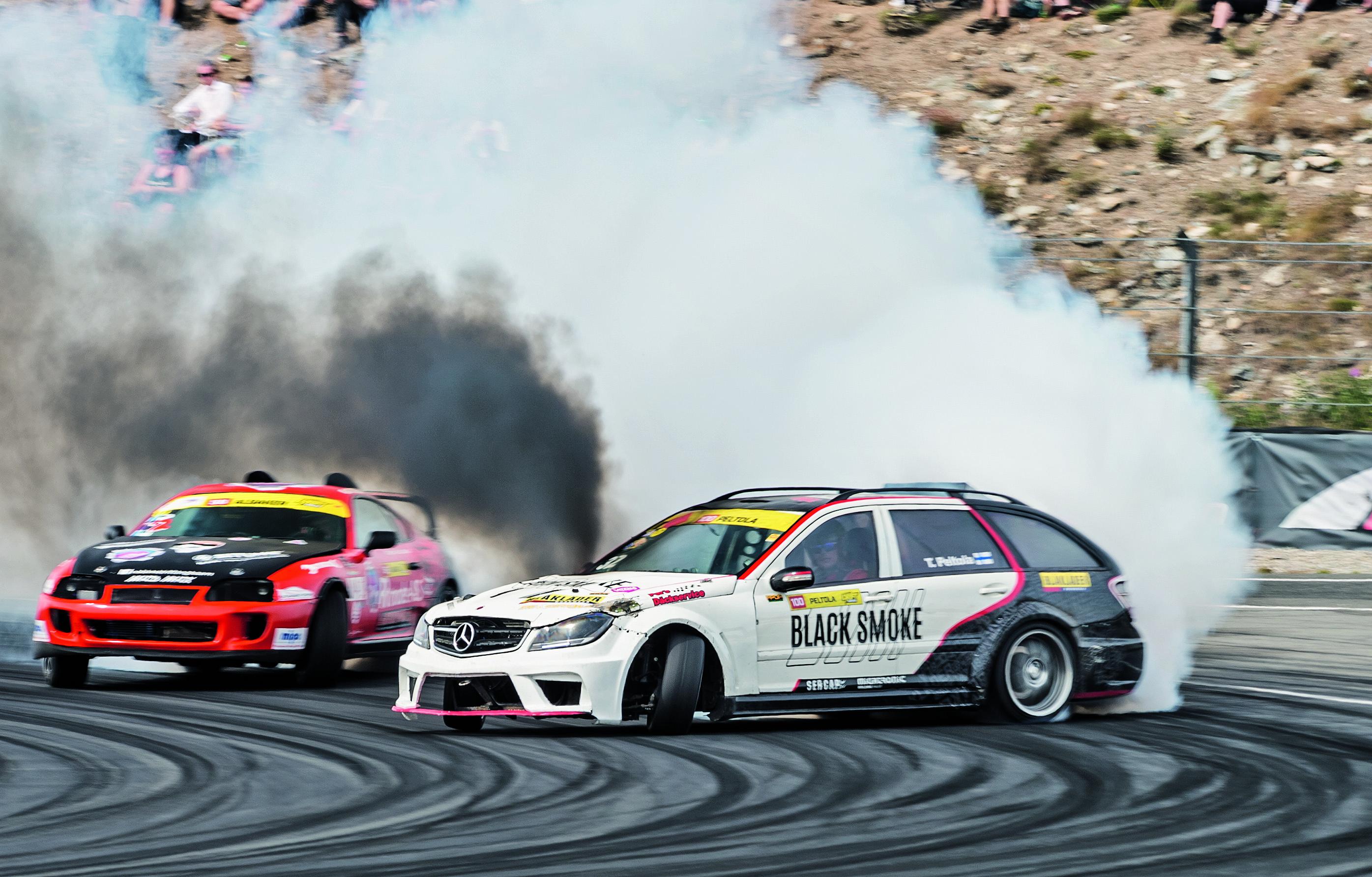 black smoke racing til auto show denmark odense