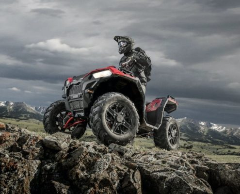 Polaris ATV til Auto Show