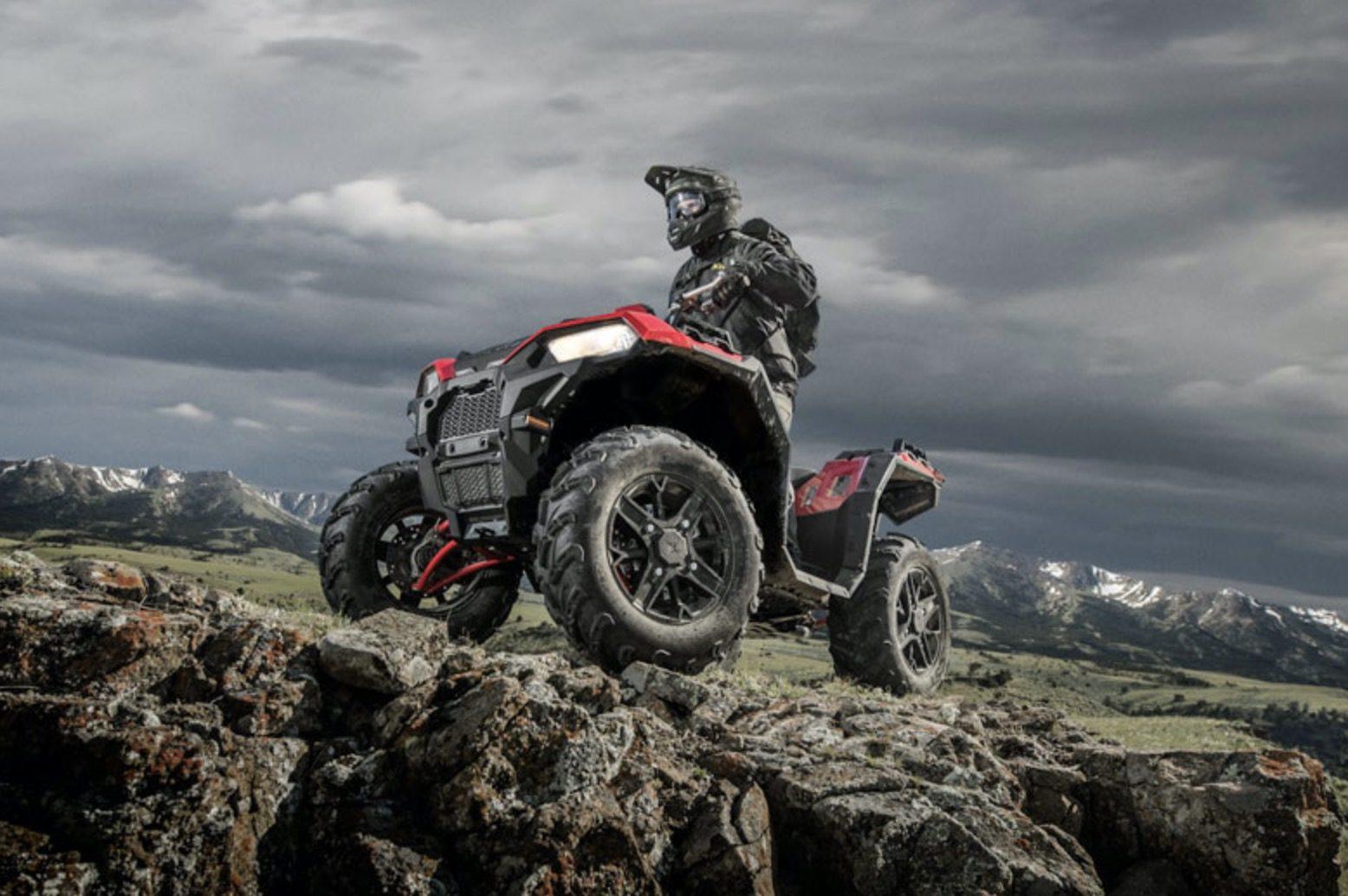 Polaris ATV til Auto Show