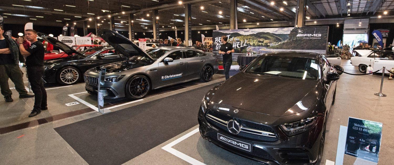 Mercedes-AMG til Auto Show bilmesse i Odense
