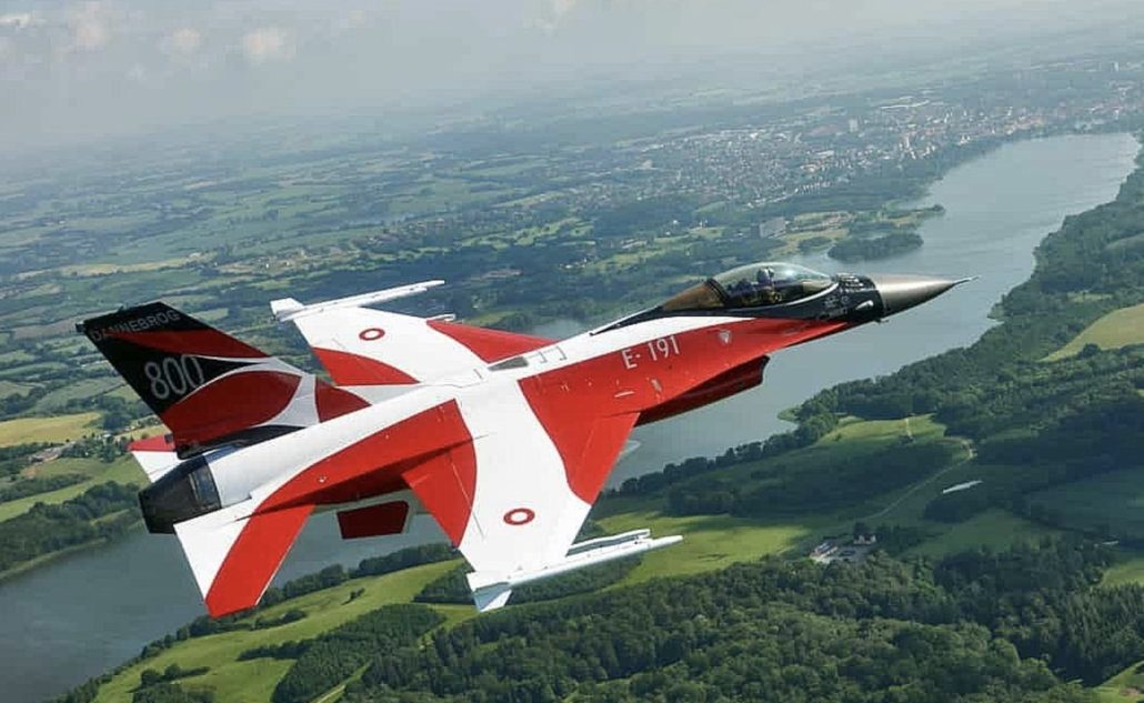 Jagerfly F16 over Auto Show